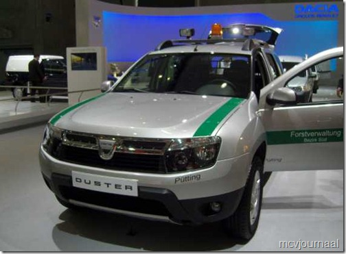 Dacia Duster boswachter 01