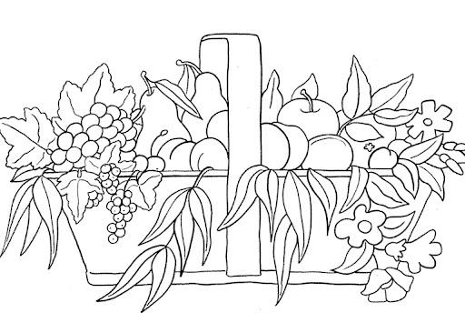 Dibujos para colorear de fruteros - Imagui