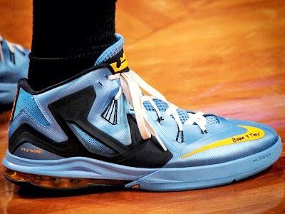 nike air max ambassador 6 pe mike miller grizzlies 1 01 Mike Millers Nike Ambassador 6 Memphis Grizzlies PE