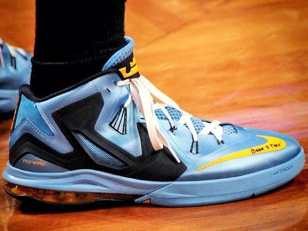 Mike Miller8217s Nike Ambassador 6 Memphis Grizzlies PE