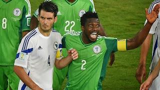 Un Nigeria solide et réaliste élimine la Bosnie (1-0)