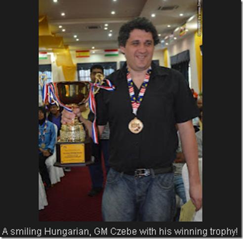 GM Czebe Attila, Hungary