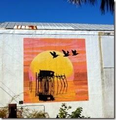 Mural in Cedar Key