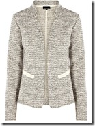 Warehouse Silver Tweed Jacket