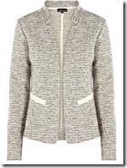 Warehouse Silver Tweed Jacket