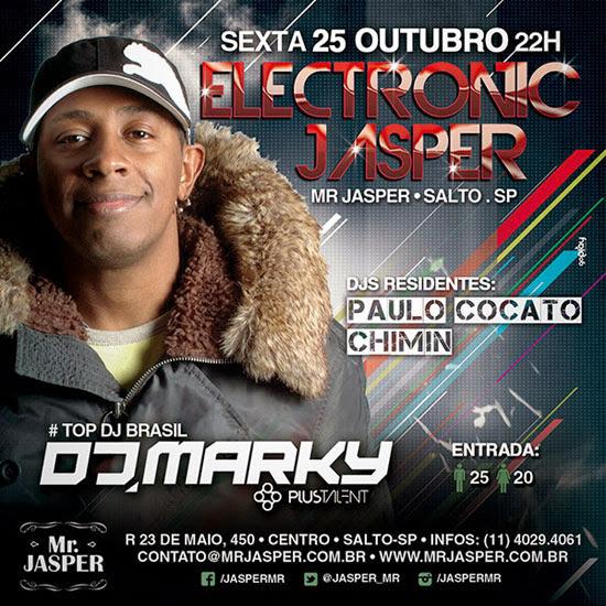DJ Marky no Mr. Jasper em Salto