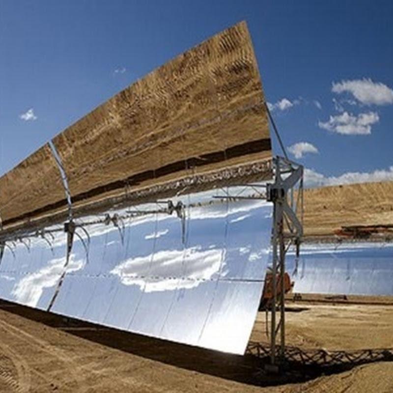 Termosolares Andasol 1 2 3 la mayor instalación solar de energía de Europa