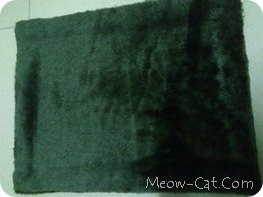 how to building cat tree - Fabric cut and wrapped 7