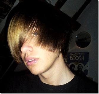 tipos peinados hombre emo pelo lacio