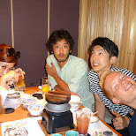 Izakaya party in Roppongi with my friends in Tokyo, Tokyo, Japan