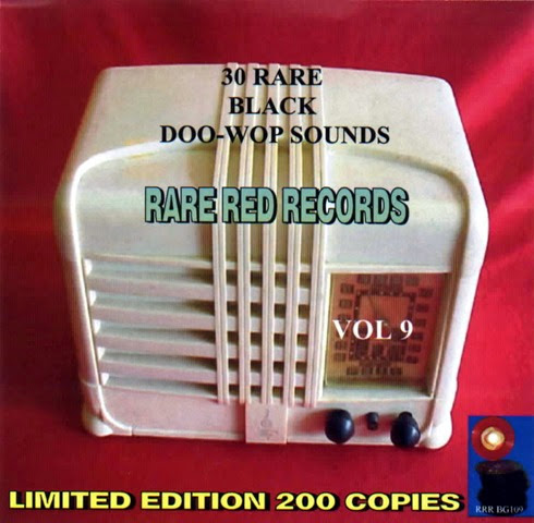 Rare Black Doo-Wop Sounds Vol. 09 - 31 Front