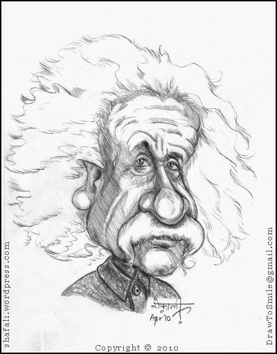 Caricature drawing