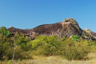 pedra do elefante no parque das sete cidades