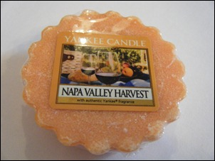 Yankee Candle Napa Valley Harvest