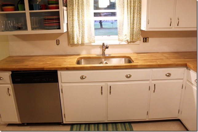 Where The Stove Is And Also Raise Up To Countertop Height Butcher Blocks Countertops