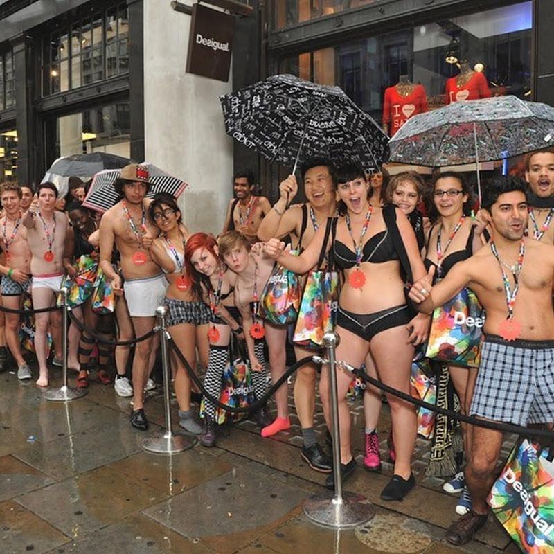 Arrive Half Naked – Leave Fully Dressed