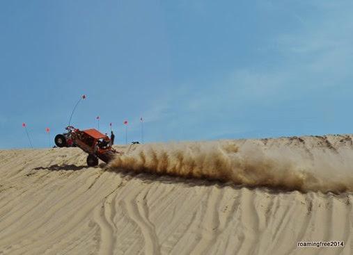 Crazy stunts on Test Hill