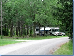 5117 Laurel Creek Conservation Area  - our motorhome