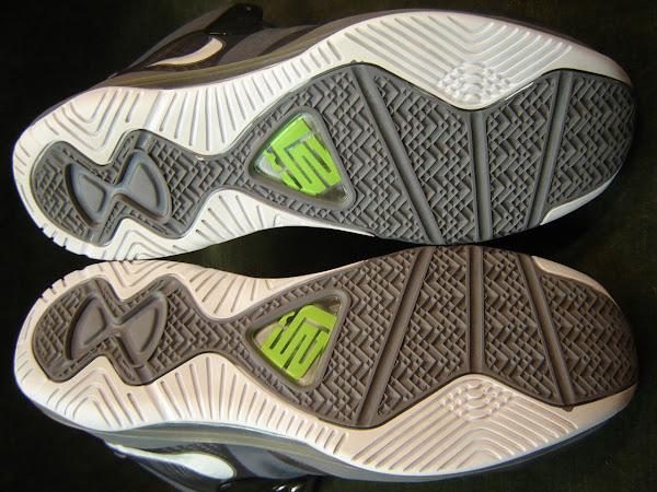 Nike LeBron 8 V2 Cool Grey Sample Featuring Old LBJ23 Logo