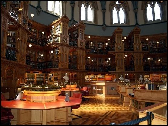 Bibliothèque du Parlement , Ottawa, Canada -3