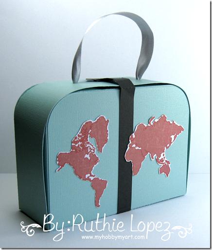 Mosipis - Set de viaje - Suitcase - Ruthie Lopez - My Hobby My Art 4