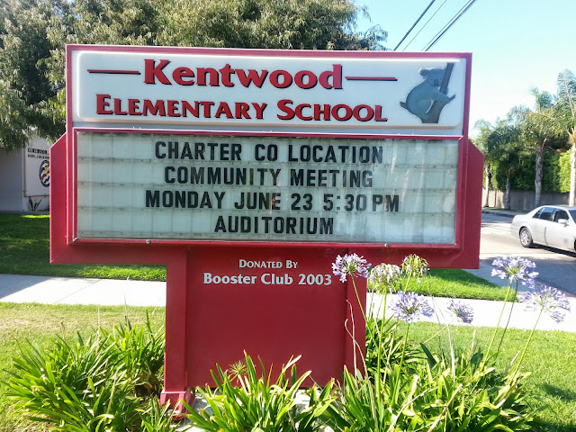 Kentwood Elementary School Charter co-location meeting