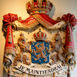 dutch coat of arms - je maintiendrai in japan in Sasebo, Nagasaki, Japan