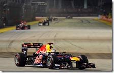 Vettel vince il gran premio di Singapore 2011