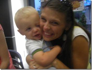 Mom and Liam