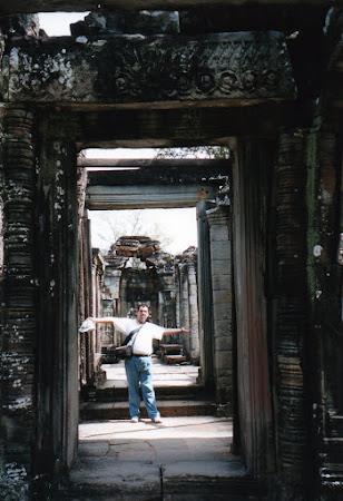 Obiective turistice Cambogia: templu budist Angkor Wat