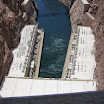 View of Hoover Dam and Colorado River