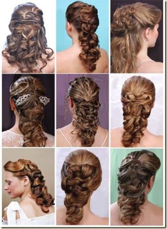 peinados recogidos y semi