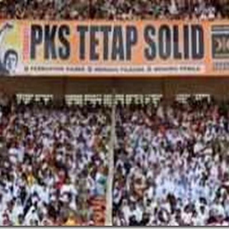 PDIP Tahu, PKS Partai Paling Solid Untuk Dihancurkan Lebih Dulu