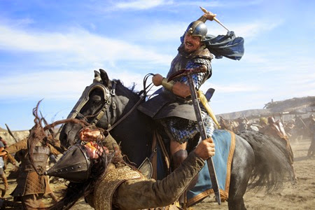 Christian Bale in EXODUS GODS & KINGS