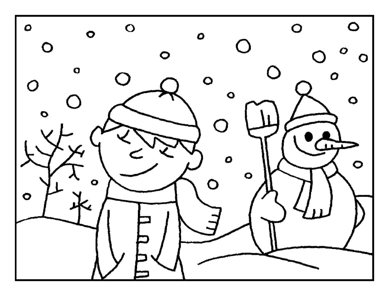 Dorable Páginas Para Colorear Para Enero Colección - Dibujos de ...