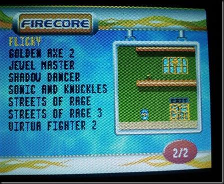 Firecore list 2