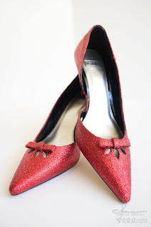 Glitter Shoes DIY
