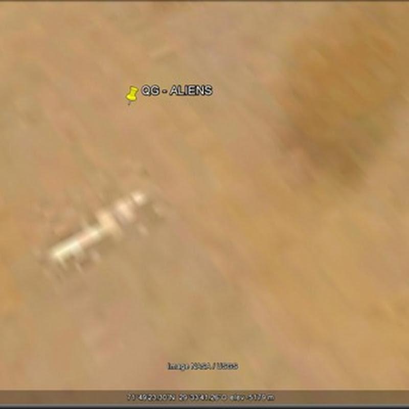 Google Mars Base Alien – Atualizado (02/02/12)