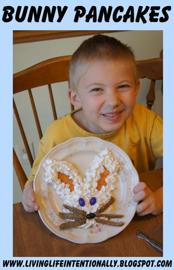 Bunny Pancakes - Spring Food Fun for Kids