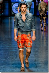 D&G Menswear Spring Summer 2012 Collection Photo 32