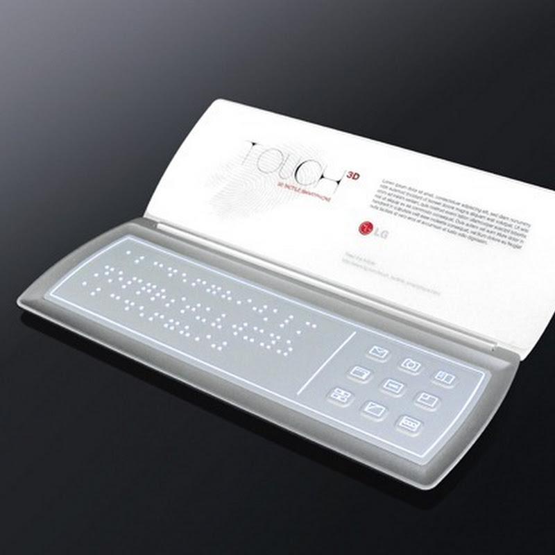 LG Touch Concept - Điện thoại thực tế ảo