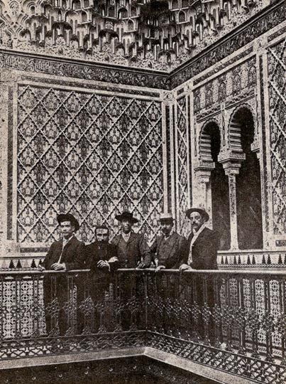 1903-10-29 (p. SyS) Montes con amigos Casino Murcia