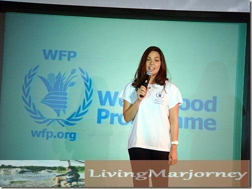 KC Concepcion World Food Programme Ambassador