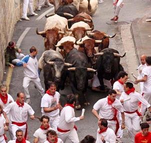 Pamplona cuesta Santo Domingo 2010