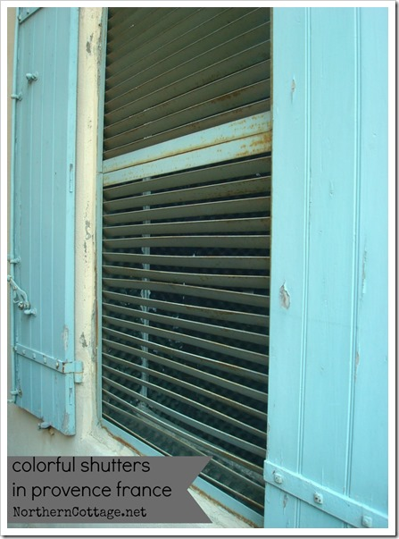 shutters provence
