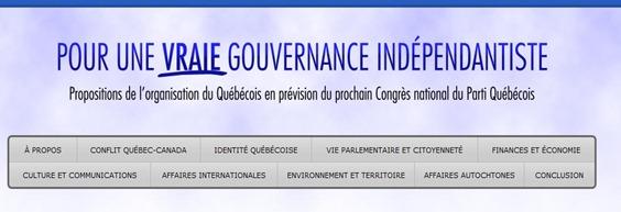 Gouvernance indépendantiste