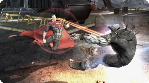 Injustice Gods Among Us Screenshot Superman