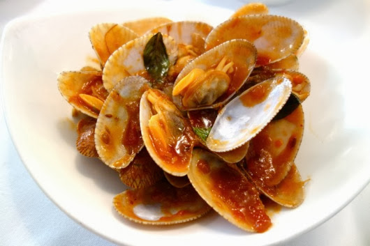 Wild Clams Stir Fried with Chili Jam and Basil - these made my ...