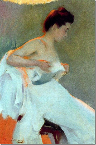 ramon casas i carbo_Estudio de Luz 2