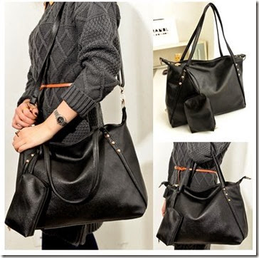 OB 3071 Black (187.000) - PU Leather, 31 x 40